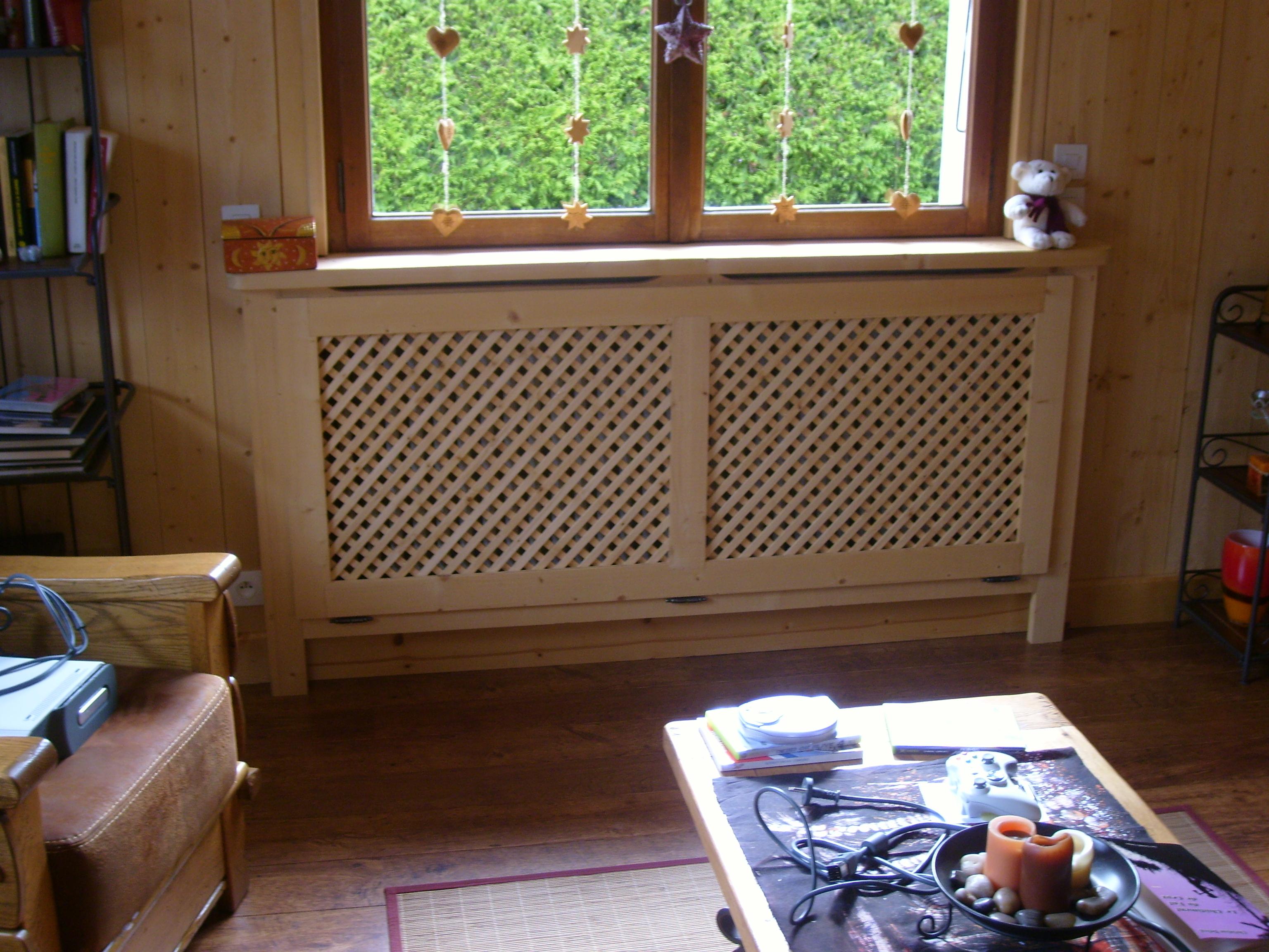 agencement sur mesure vieux bois caches radiateurs plafond porte d 39 entr e chemin e. Black Bedroom Furniture Sets. Home Design Ideas